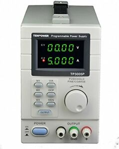 Tekpower Tp3005p Programmable Linear Type Variable Regulated Dc Power Supply At