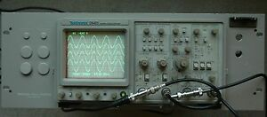 Tektronix 2445 150 Mhz Oscilloscope Calibrated Rack Mount Works Great