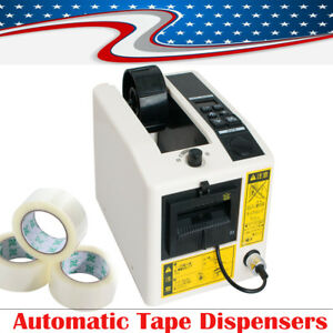 Automatic Tape Dispensers Adhesive Cutter Cut Pack Packaging Machine 3 Digit Led