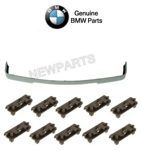 For Bmw E30 3 series Front Valance Spoiler is Style Moulding Clips Genuine