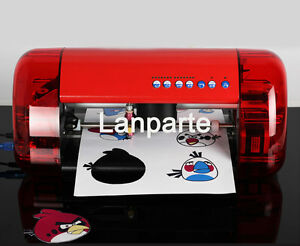 A4 Mini Desktop Vinyl Cutter Plotter With Contour Cut Function 110v Us