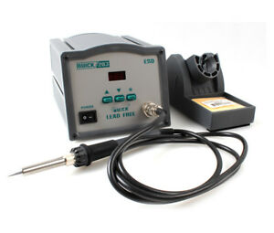 Quick203 60w High Frequency Digital Soldering Station Iron Intelligent Lead free