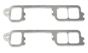 304 Stainless Steel Header Flanges For Chevy Straight 6 split Flange Square Port