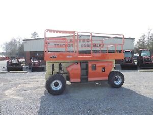 2006 Jlg 3394rt Scissor Lift Genie Rough Terrain 4x4 Good Condition