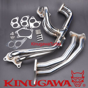 Turbo Exhaust Manifold Fit Subaru Twin Scroll Gdb Spec C Vf36 Vf37