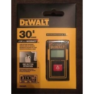 Dewalt 30 foot Pocket Laser Distance Measurer