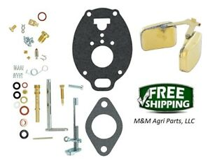 Complete Carburetor Kit Float John Deere M Mc Mt 40 320 330 Tractor Tsx530