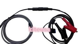 New External Power Cable With Alligator Clips For Trimble Gps To Pdl Hpb