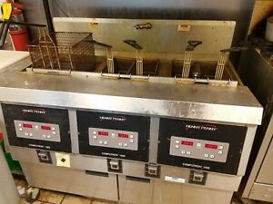 Henny Penny Model Ofe323 0 Ofe 323 Fryer 3 Wells Gas Only 1 Owner