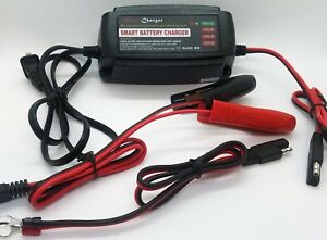 Daga 12v 5 Amp Automatic Battery Charger maintainer Motorcycle Snowmobile Dirt