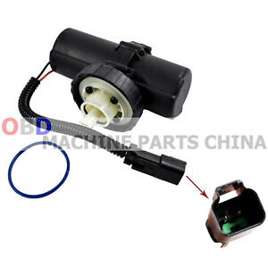 Electric Fuel Pump 12v For Caterpillar Cat Tractor Backhoe 349 1063 249 7669