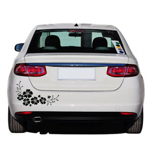 1pc Flower Vinyl Auto Car Body Graphics Window Sticker Decal Decor