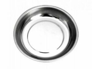 Round Magnetic Parts Tray 150mm 5 3 4 Bowl Dish Stainless Steel Garage Holder