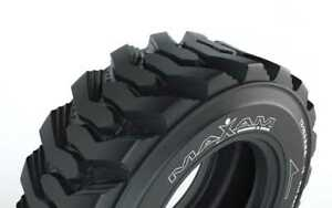 New Full Set 2 12 16 5 12 Ply 2 19 5l 24 16 Ply Backhoe Tires 4 Total