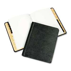 Wilson Jones Corp Record minute Book Complete Outfit Black 75 078910399019