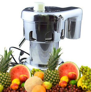 Free Shipping From Nyc all Stainless Steel Commercial grade 3 4 Hp Juicer 110v