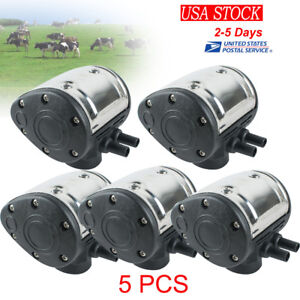 5pcs L80 Pneumatic Pulsator For Cow Milker Milking Machine Farm Cattle Dairy Us