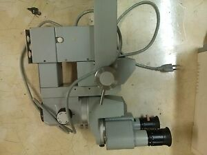 Carl Zeiss Surgical Microscope Opmi1 5 sh Good Optics good Cosmetic sold As Is