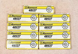900 Ramset 4rs27 27 Caliber Strips Yellow Loads