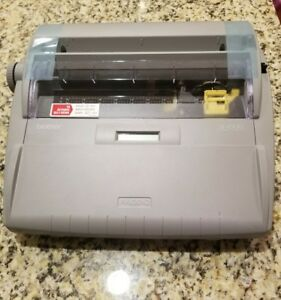 Brother Sx 4000 Electronic Typewriter With Display New Without Box