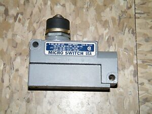 Honeywell Micro Switch Enclosed Limit Switch Bzg1 2rn 8423