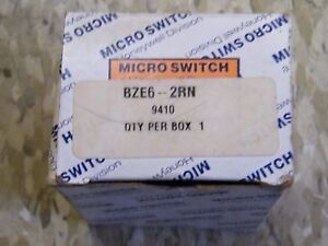 Honeywell Micro Switch Enclosed Limit Switch Bze6 2rn