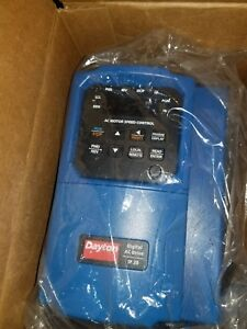 Dayton 32j576 A c Motor Speed Control Variable Frequency Drive 3 Hp New Ac