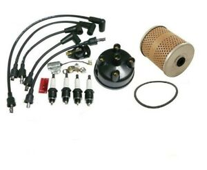 Ignition Tune Up Kit Oil Filter Ford 8n Tractor With Side Mount Distributor