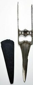 Pre 1800 Indian Armor Piercing Katar Dagger From A Rajasthan Armoury 7121