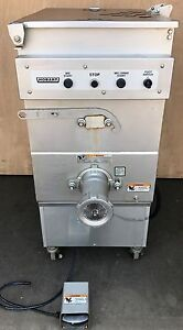 Hobart 4246 s 140 Lb Knife And Plate Style Commercial Grinder mixer 3ph 5hp