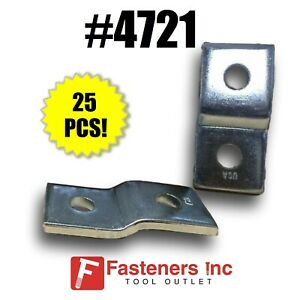 4721 P1454 2 Hole Offset z Support For 1 5 8 Unistrut Channel box Of 25