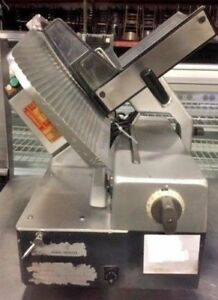 Bizerba 13 Slicer Sg8d Automatic Meat Cheese Deli Commercial Heavy Duty Counter