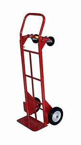 Milwaukee Hand Trucks 40179 Convertible Truck With 8 inch Solid Puncture Proo