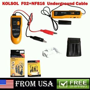 Usa Ship Nf 816 Underground Tube Wall Wire Cable Locator Lan Tracker Detector