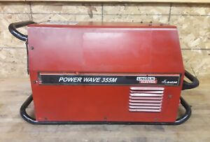 Lincoln Electric Power Wave 355m Mig Welder