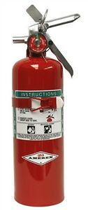 5lb Halon 1211 Fire Extinguisher W Vehicle Bracket B355t