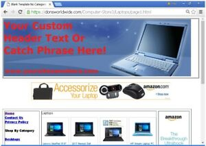 Turnkey Computer Store Website For Sale Free Bonuses Free Set Up plus More