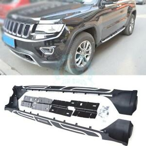Side Pedal For Jeep Grand Cherokee 11 16 Running Board Nerf Bar Aluminum Carrier