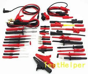 Testhelper Th 21 kit Electronic Specialties Test Lead Kit For Multimeter