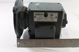 Sterling Electric Speed Reducer Gear Reducer 30 1 215bq030562