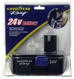 Goodyear Impact Wrench 24v Battery 89058