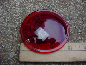 30s 40s 50s 60s Maybe Red Glass Clearance Stop Tail Marker Lamp Lens