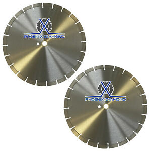 2pcs 14 inch General Purpose Segmented Diamond Saw Blade For Concrete