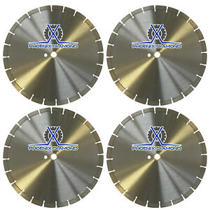 4pcs 14 inch General Purpose Segmented Diamond Saw Blade For Concrete