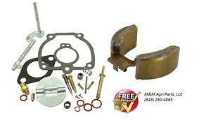 Carburetor Kit Float Ih Farmall M Mv I6 W6 Tractor 47387db Or 50983db W 6513dx