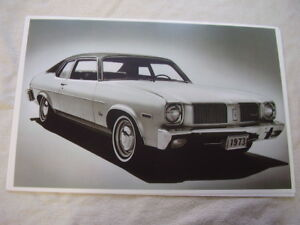 1973 Oldsmobile Omega Coupe 11 X 17 Photo Picture
