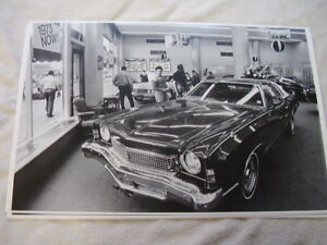 New 1973 Chevrolet Monte Carlo In Showroom 11 X 17 Photo Picture