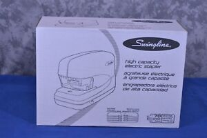 Swingline High Capacity Electric Stapler 70 Sheet Black 69270 nib