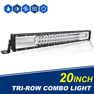 5d Cree 23inch 384w Led Light Bar Car Boat Offroad 4x4 4wd Spot Flood 20 22 24