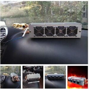 4 Hole Ports Compact Car Underdash Heater Heat Heating Defroster Demister Warmer